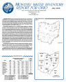 Page 1 Monthly water inventory report for Ohio