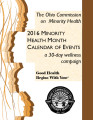 ... Minority Health Month calendar of events