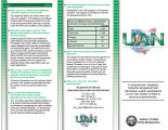 UAN, Uniform Accounting Network a computerized, integrated, financial management and information...