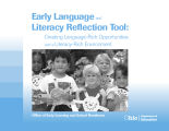 Early language and literacy reflection tool creating language-rich opportunities and a...