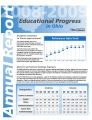 Annual report on educational progress in Ohio