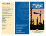 Construction Litigation Group