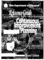 Reference guide to continuous improvement planning for Ohio school districts