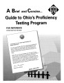 Brief and concise-- guide to Ohio's proficiency testing program
