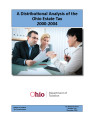 Distributional analysis of the Ohio estate tax, 2000-2004