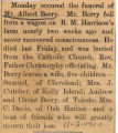 Funeral of Mr. Albert Berry