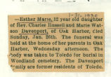 The Obituary of Esther Marie Davenport