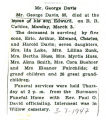 The Obituary of George Davis