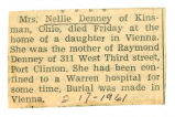 The Obituary of Nellie Denney