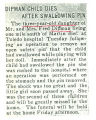 The Obituary of 3 year old Dipman daughter