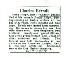 The Obituary of Charles Berndt