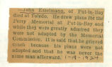 The Obituary of John Esselmann