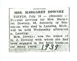 Mrs. Margaret Downey
