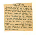 The Obituary of William Dueby