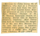 The Obituary of Nellie Duroy