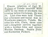 The Obituary of Carl W. Fulkert