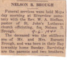 The Obituary of Nelson B. Brough