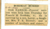 Bordeau Buried