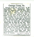 George Cross, Sr.