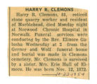 Harry R. Clemons