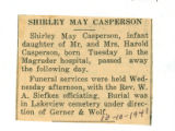 Shirley May Casperson