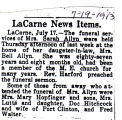 Sarah Allyn Obituary