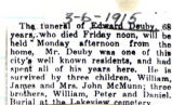 Obituary of Edward Deuby