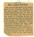 Mrs. John Gordon