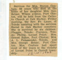 Obituary of Mrs. Steven Couture