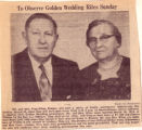 Kline's Golden Wedding