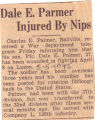 Dale E. Parmer Injured by Nips
