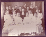 1906 Confirmation Class of St. John's Evangelical & Reformed Church in Elmore, Ohio
