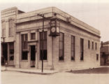 Bank of Elmore Company Building with Stone Facade