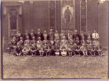 Trinity M.E. Church Mens Sunday School Class 1920s