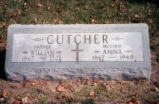William & Anna Cutcher Tombstone