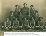 Elmore High School Girls Basketball Team 1926