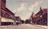 Madison Street in Gibsonburg, Ohio 1910s