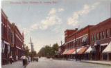Looking West on Madison Street in Gibsonburg, Ohio c.1910s