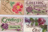 Gibsonburg, Ohio Postcard Collection (early 1900s)