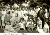 Elmore Church of God Sunday School Picnic (1936)