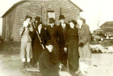 Elmore Church of God Youth Group Ice Skating (1937)