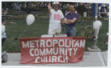 Metropolitan Community Church Booth at Gayfest