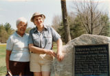 Buckeye Trail Association members at the Grandma Gatewood Memorial Hiking Trail
