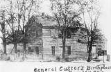 George Armstrong Custer's birthplace postcard