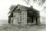 Log cabin photograph