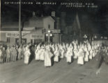 Ku Klux Klan on parade photograph