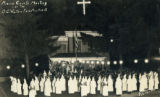 Ku Klux Klan meeting photograph