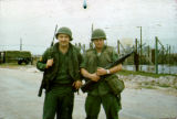 Michael Harsh and Bruce Prater in Vietnam
