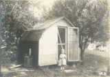 Chicken house on S. T. Campbell's farm
