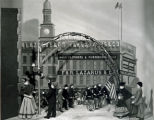 Lazarus Company window display--Soldiers returning from the Spanish-American War